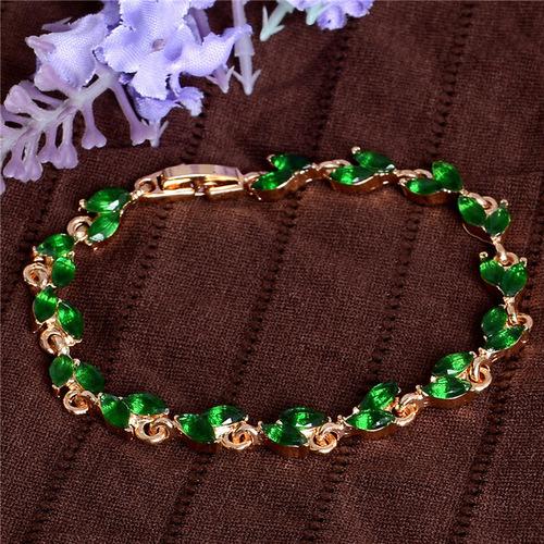 Charming Cubic Zirconia Bracelet Women Fashion Jewelry