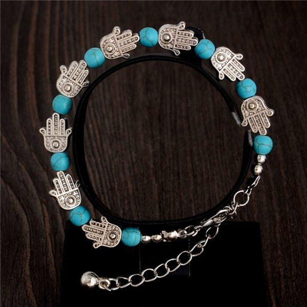 Handmade Turquoise Beads Bracelet Style 2