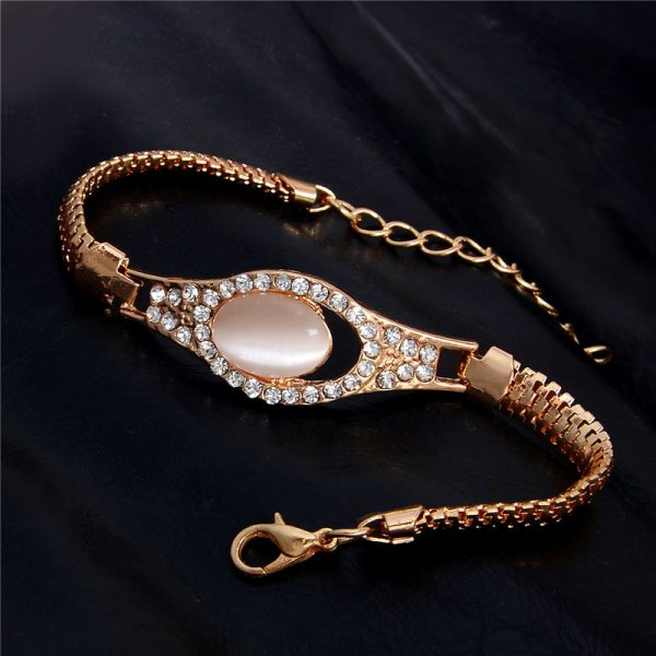 Fashion Jewelry Bracelet Ladies Styles 10 18 K Gold Plated