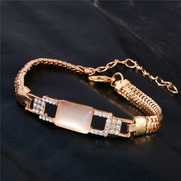 Fashion Jewelry Bracelet Ladies Styles 4 18 K Gold Plated