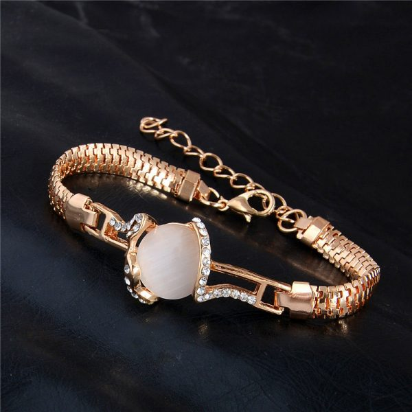 Fashion Jewelry Bracelet Ladies Styles 6 18 K Gold Plated