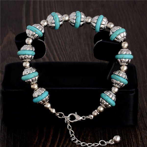 Handmade Turquoise Beads Bracelet Style 10