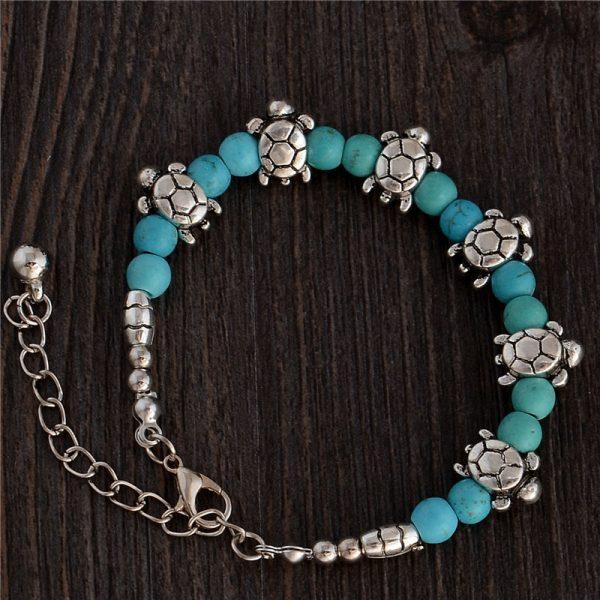 Handmade Turquoise Beads Bracelet Style 6
