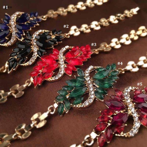 Beautiful Sparkling Crystal Rhinestones Women Bracelet