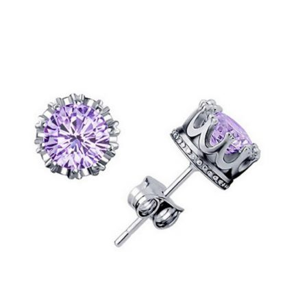 Crystal Cubic Zirconia Earrings Women Fashion Jewelry
