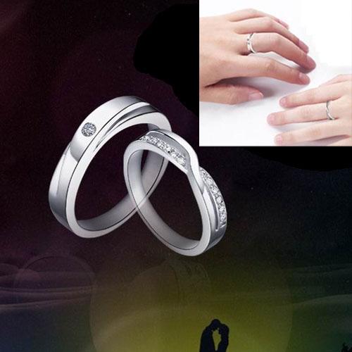 Amazing Men Women Couple Fashion Jewelry Finger Ring