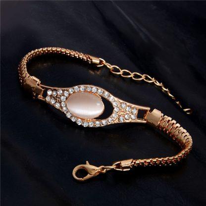 Fashion Jewelry Bracelet Ladies Styles 10 18 K Gold Plated