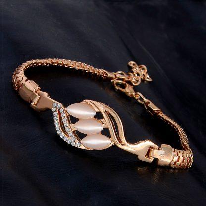 Fashion Jewelry Bracelet Ladies Styles 11 18 K Gold Plated