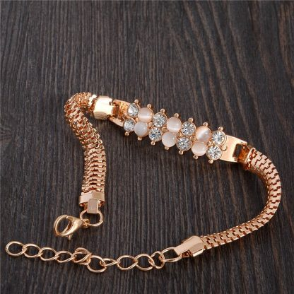 Fashion Jewelry Bracelet Ladies Styles 12 18 K Gold Plated