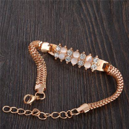 Fashion Jewelry Bracelet Ladies Styles 12 18 K Gold Plated