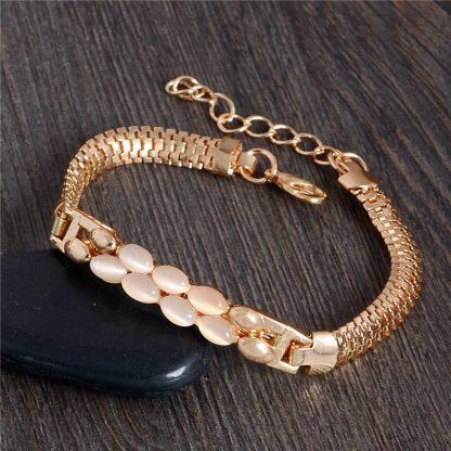 Fashion Jewelry Bracelet Ladies Styles 13 18 K Gold Plated