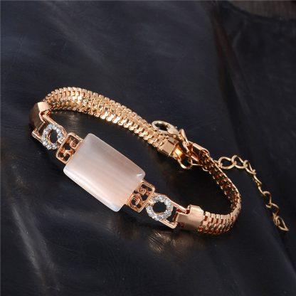 Fashion Jewelry Bracelet Ladies Styles 2 18 K Gold Plated