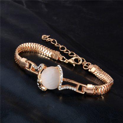Fashion Jewelry Bracelet Ladies Styles 6 18 K Gold Plated