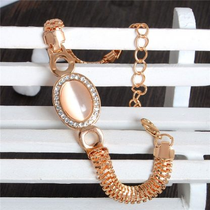 Fashion Jewelry Bracelet Ladies Styles 7 18 K Gold Plated