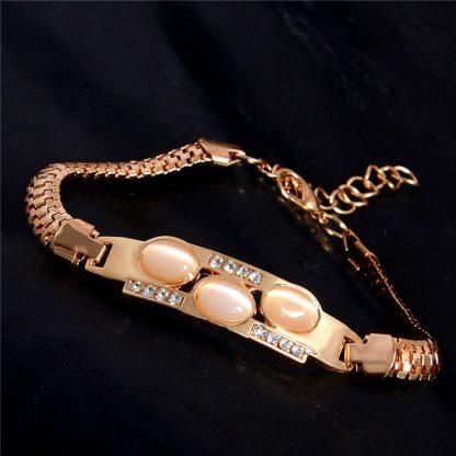 Fashion Jewelry Bracelet Ladies Styles 8 18 K Gold Plated