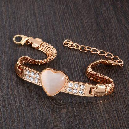 Fashion Jewelry Bracelet Ladies Styles 9 18 K Gold Plated