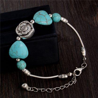 Handmade Turquoise Beads Bracelet Style 39