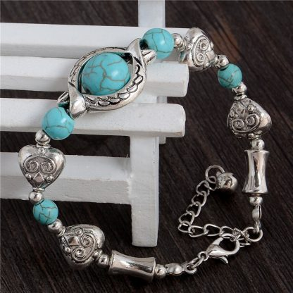 Handmade Turquoise Beads Bracelet Style 7