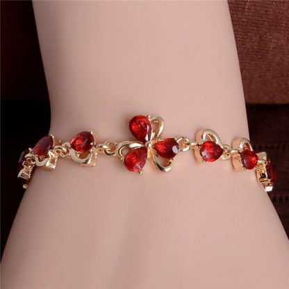 Graceful Cubic Zirconia Bracelet Women Fashion Jewelry